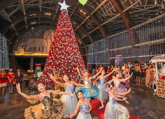 Nareethip School's Christmas Ballet performance is a magnificent sight to behold.