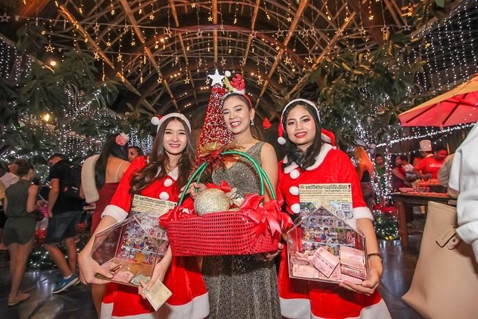 The celebration raises money for the Pattaya Orphanage.