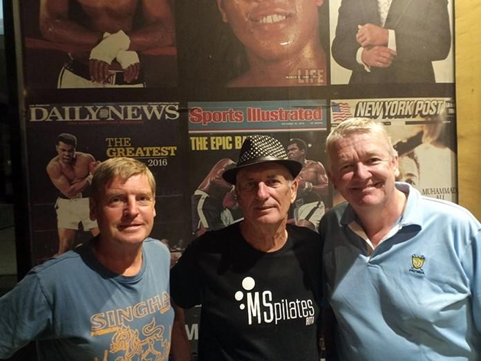 (L to R) Frank Grainger, John Carlin and Dave Edwards.