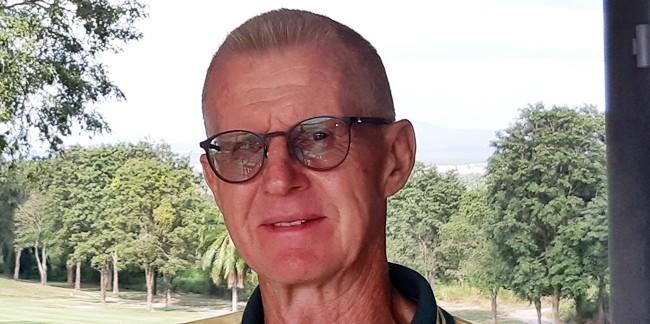 A flight winner Henning Olsen.