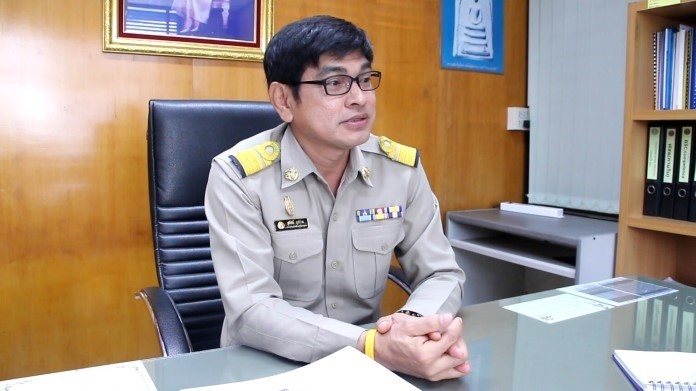 PWA Pattaya Manager Sutat Nutchpan urges Pattaya residents to conserve water amid the threat of shortages next year.