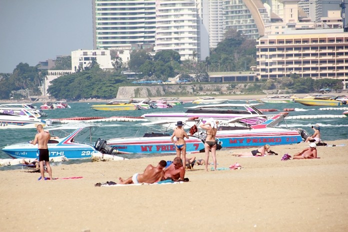 Pattaya is hoping a recent resurgence in both the British pound and Russian ruble will boost tourism for the rest of high season.
