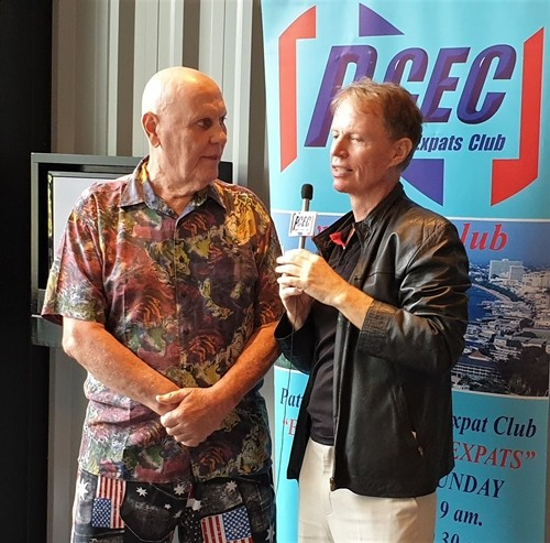 Member Ron Dittmer interviews Dr. Ren Lexander after his presentation to the PCEC. View the video here: https://www.youtube.com/watch?v=Tq0xBmgAKa0&t=2s