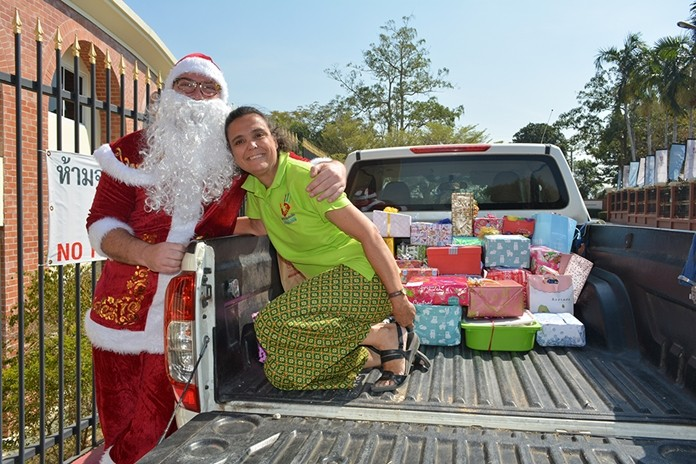 Many of the children who will receive these gifts have never received a present before.