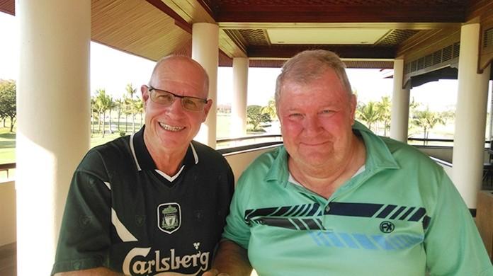 Brian Gabe & Ronnie Ratte.