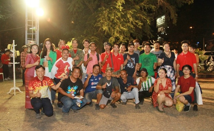 Pattaya Orphanage alumni take part in the festivities.