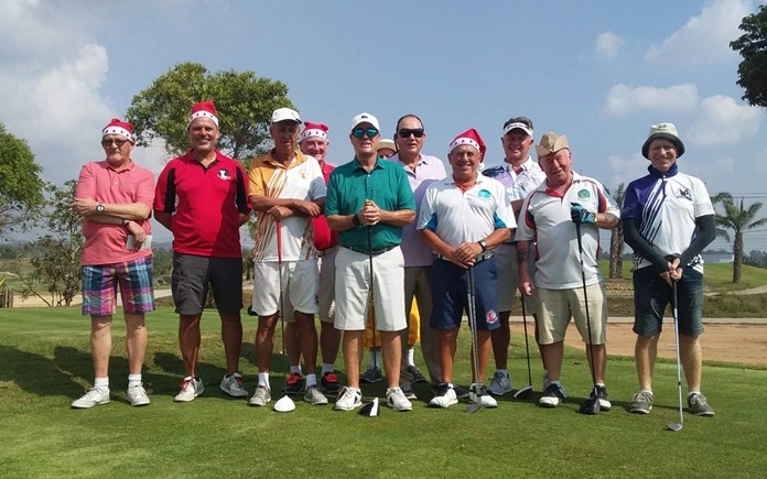 Bunker Boys Christmas Day at Parichat.