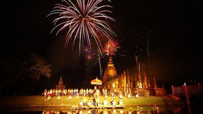 Amazing Night Sukhothai Countdown 2020 (29-31 December 2019) at Sukhothai Historical Park