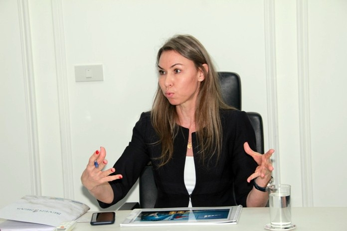 Ekaterina Chirkova the Sales Manager says that the Seven Seas Le Carnival is the only condominium project in Pattaya that combines resort style amenities with high rise architecture.