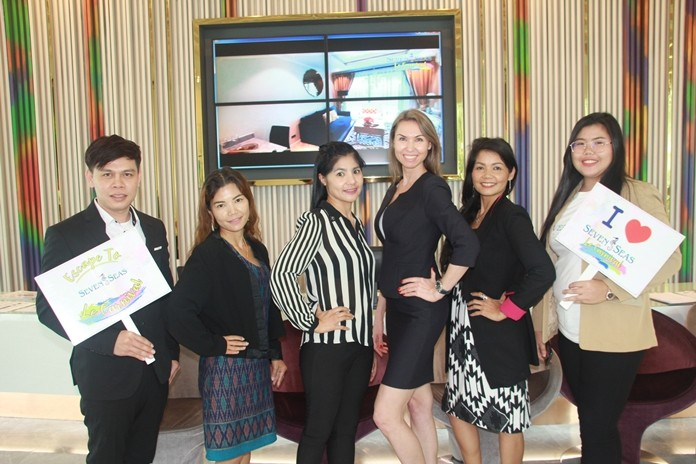 Ekaterina Chirkova together with her the vibrant and professional sales team.