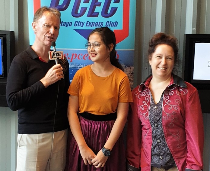 MC Ren Lexander interviews Caidie Brennan (Cinderella) and Mara Swankey (Dandini) after their performance to the PCEC. To view the video of the Cast interviews, visit https://www.youtube.com/watch?v=OcbKVheY67I.