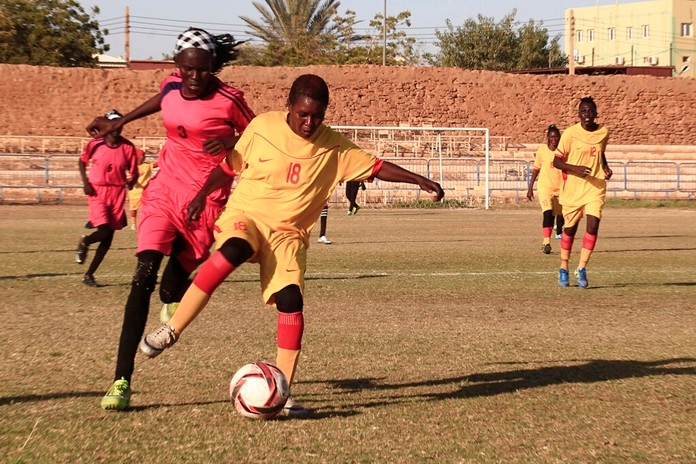 The women's soccer league has become a field of contention as Sudan grapples with the transition from three decades of authoritarian rule that espoused a strict interpretation of Islamic Shariah law. (AP Photo)