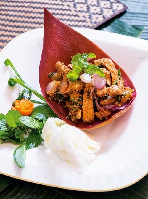 Lap Mu (Thai spicy pork)