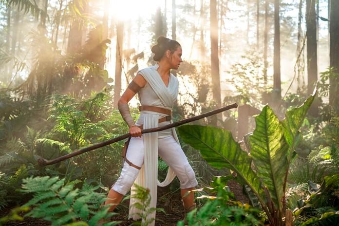 "Daisy Ridley as Rey in a scene from ""Star Wars: The Rise of Skywalker."" (Disney/Lucasfilm Ltd.)"