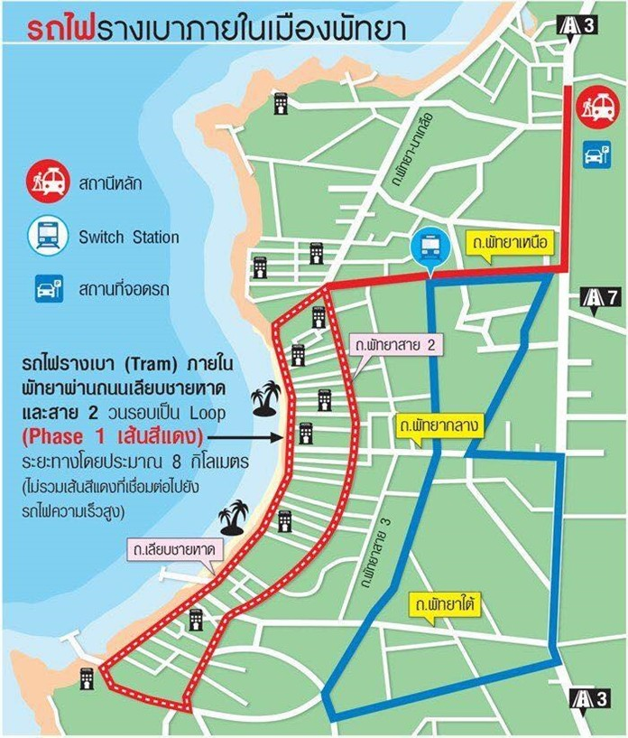 More than 90 percent of people commenting at the first public hearing on the proposed Pattaya tram project said they support the 20-billion-baht transit plan, city hall said.