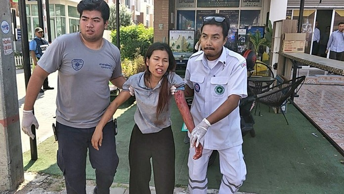 Sirikul Sumaphan serious injuries after being mauled by her employers' pack of Rottweilers.