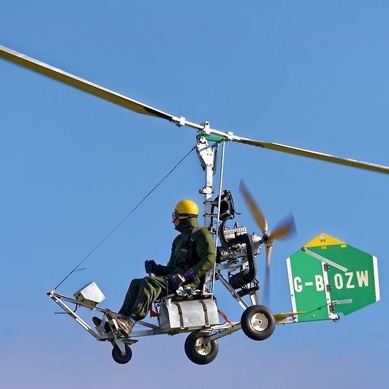 Bensen gyrocopter.