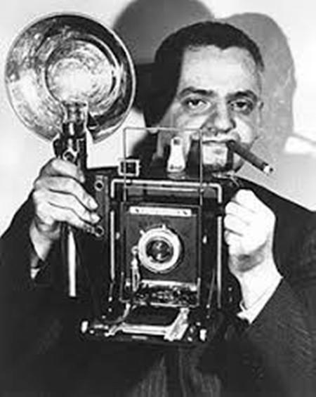 Arthur H. Fellig, aka 'Weegee'.