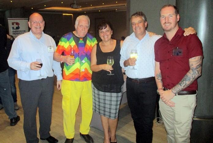 Graham Macdonald, Jim Howard, Donna & Trevor Moolman, Wez Masterton.