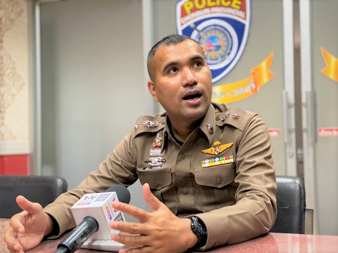 Banglamung deputy police chief Pol. Lt. Col. Nattakorn Mongkolmaha said the department regrets the sting operation ended in death and injury to innocent people, but denied that officers trying to arrest Tanongsak and his girlfriend didn't follow proper procedures.