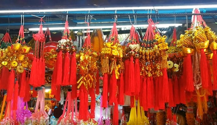 Wind chimes for wealth, happiness, good fortune and good luck.