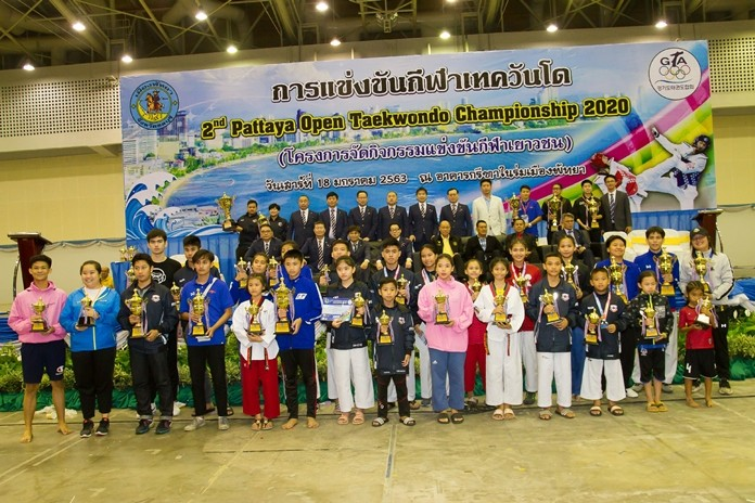 The competition results were the 1st: RSR from Bangkok, 2nd: Monkey Team from Pattaya City, and 3rd: Rangsiya from Sattahip.
