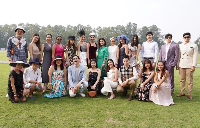 Famous celebrities attend the B.Grimm – BMW Thai Polo Open 2020.