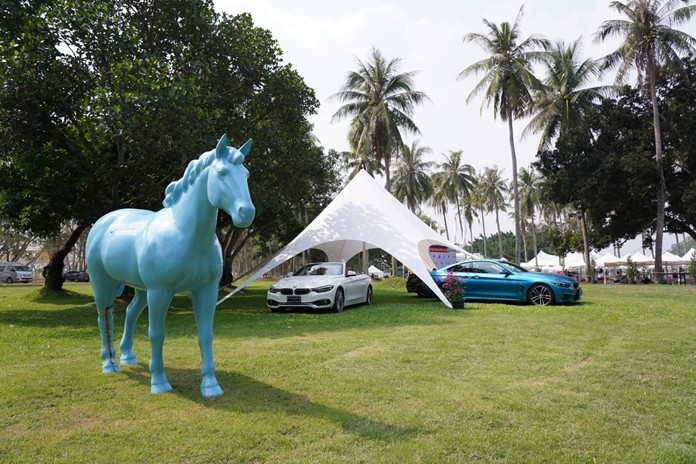 BMW Thailand sponsors the BMW-B.Grimm Thai Polo Open 2020.