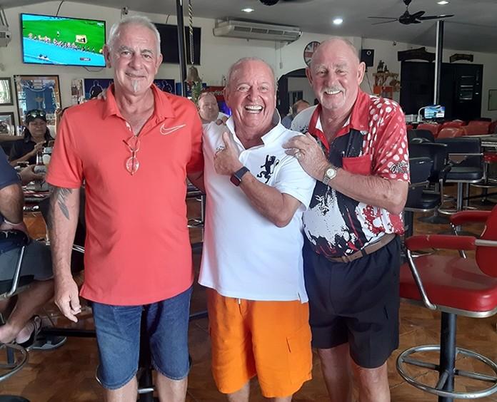 Sandy, Gerard and Captain Cripple.