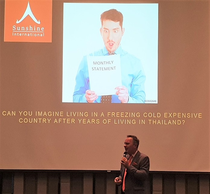 In extolling the virtues of retirement living in Thailand, Andrew Stocks describes some of negative aspects of returning to one's own country; higher costs and cold weather being two of them.