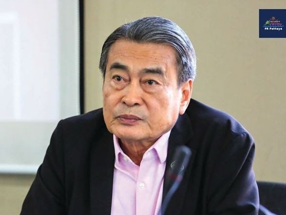 Dep. Mayor Ronakit Ekasingh listens intently to the proceedings.