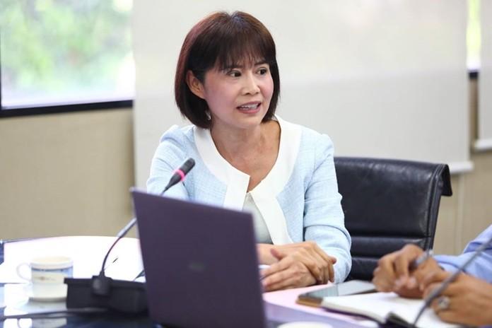 Praichit Jetapai, President of the YWCA Bangkok-Pattaya Center, gives her full support to ATCC.