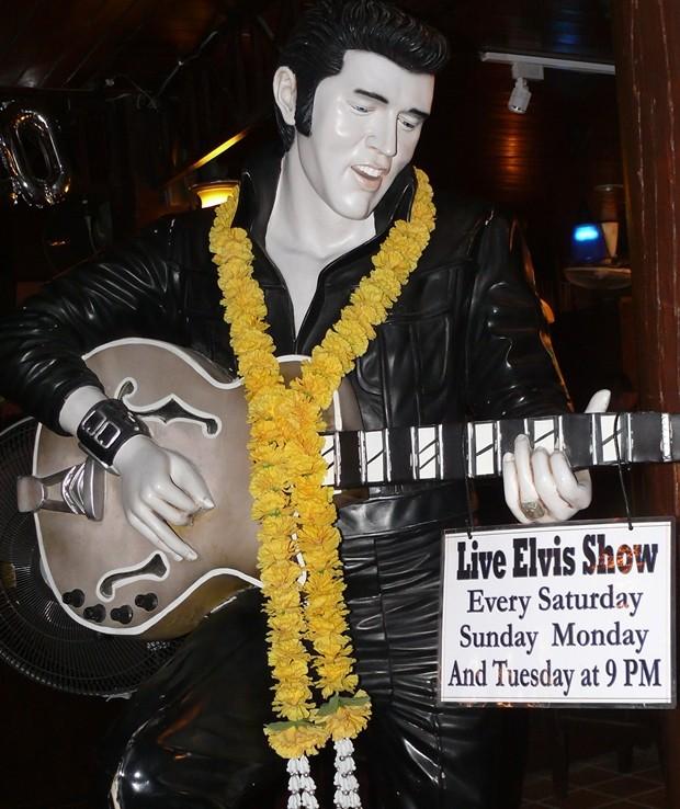 "The ever popular ""Elvis""."