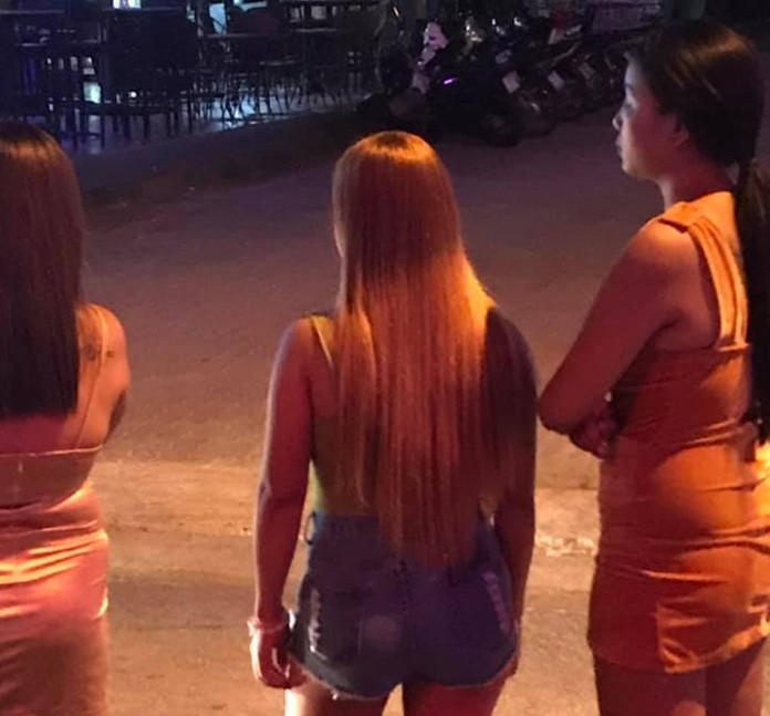 Some Soi 7 and Soi 8 bar owners are estimating business is down 70 percent, attributing the plunge in business to fear over the Chinese coronavirus.
