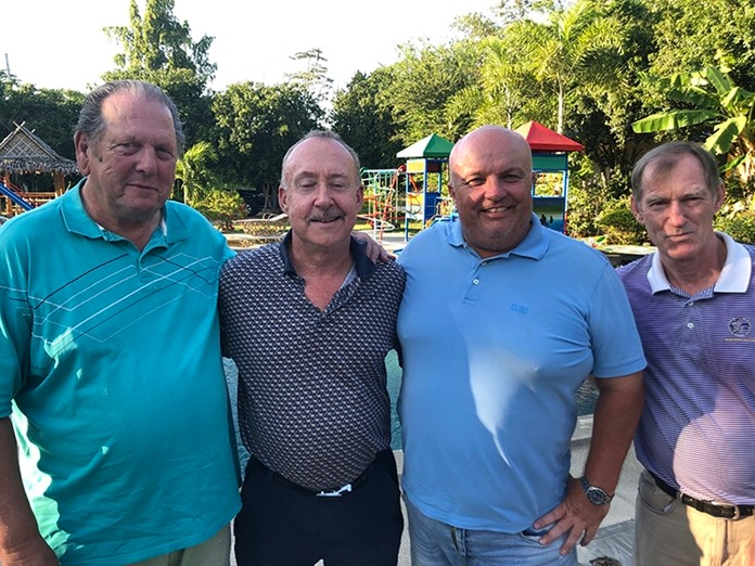 George, Stuart, Dave & Jonathan.
