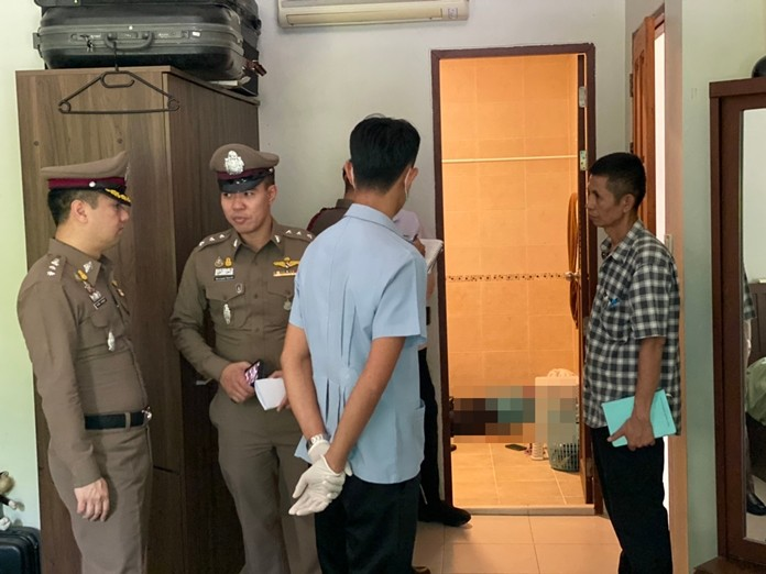 Martin Hindringer, 75, suffered a single 9mm gunshot through the mouth and head in the Feb. 8 incident in the bathroom of his two-floor luxury condominium on Naklua Soi 15.
