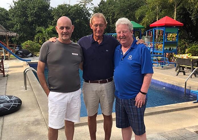John, Willem & Danny.