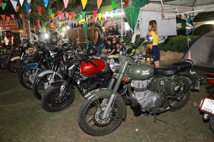 It doesn't have to be a chopper to elicit approving remarks, as this Royal Enfield does.