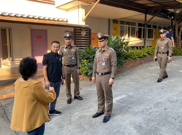 Pattaya-area love hotels were put on notice not to rent rooms to underage teens on Valentine's Day.