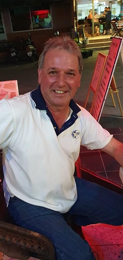 Alan Harris, winner at Bangpra.