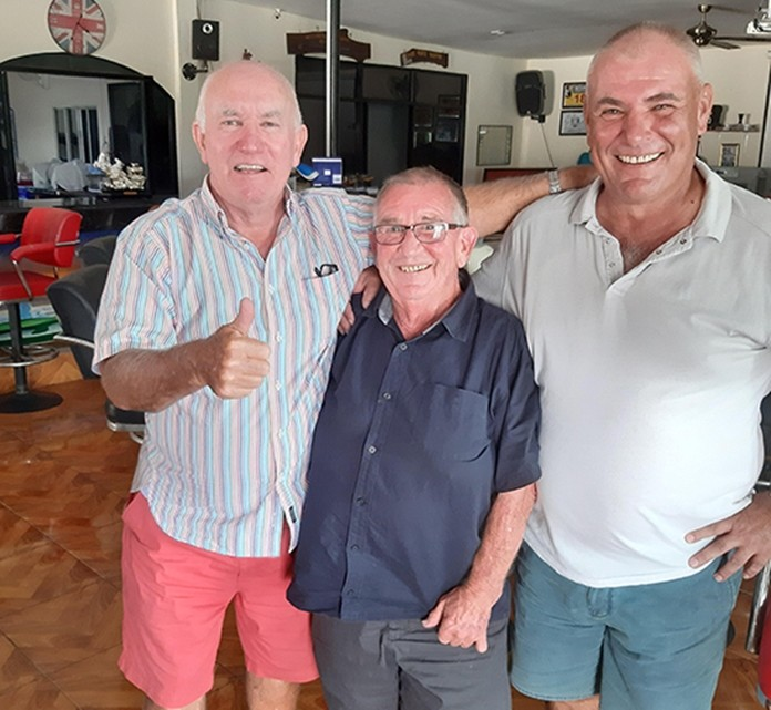Gary, Noddy and Dave.