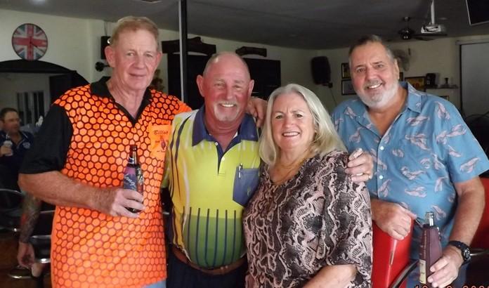 Mark Smith, Capt. Bob, Josie and husband Ron.