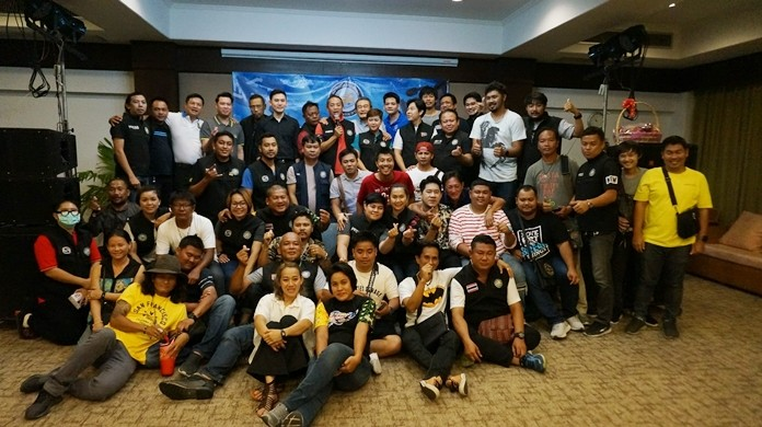 Pattaya-area journalists celebrated their trade at the annual National Press Day party March 5 at Green Park Resort Pattaya.
