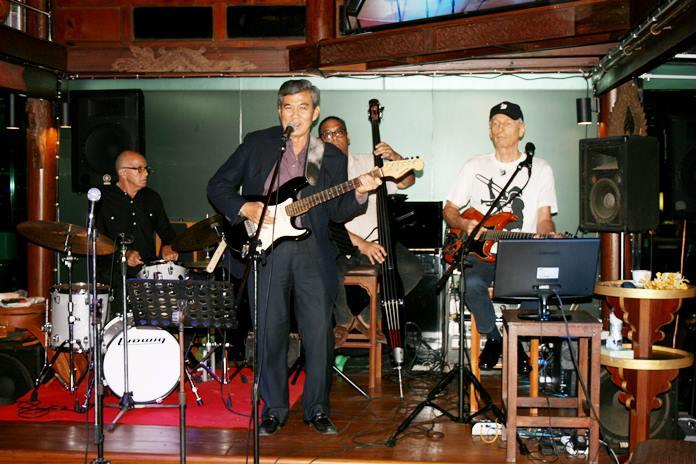 Pol. Gen Chalermdej Jombunud proves he is still a rock star.