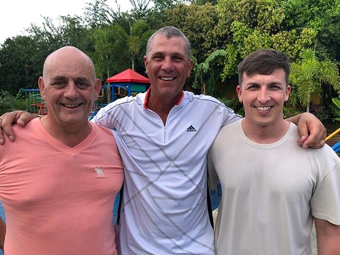 John, Bob & Dave.