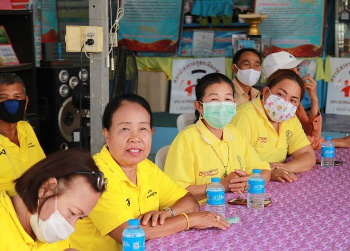 Residents were urged to wash their hands and wear face masks to prevent Covid-19 infections.