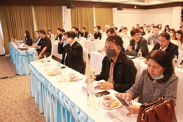 The Pattaya Business and Tourism Association used its annual general meeting to educate the public about the Covid-19 coronavirus.