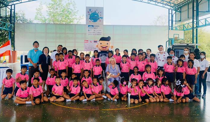 Austrian Ambassador H.E. Dr. Eva Hager visited the Child Protection and Development Center to mark 150 years of relations between her country and Thailand.