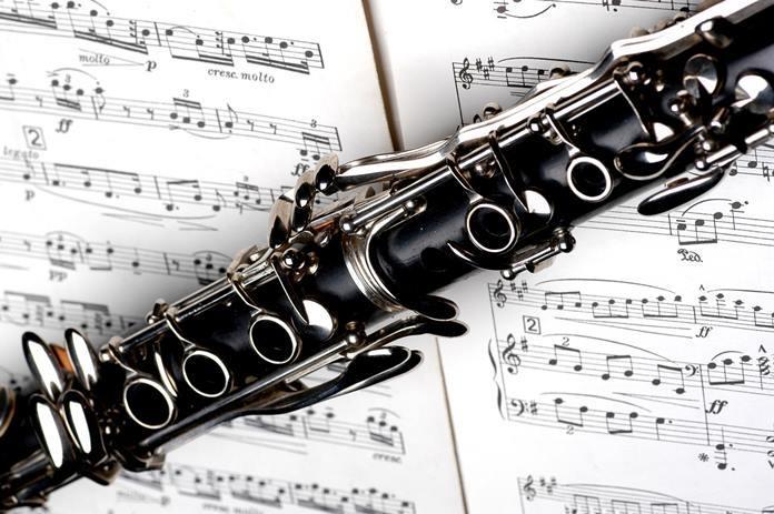 The complex mechanism on a modern clarinet (Photo: Bob McEvoy).