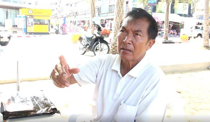 Somchai Jainukul, chairman of the Beach Umbrella Association of Pattaya and Wong Amat, said the Chonburi Disease Control Department mandated that chairs be spaced 1-2 meters apart.
